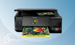 Epson Ecotank ET-7700 Driver and Software Download