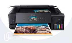 Epson Ecotank ET-7750 Driver Printer Download