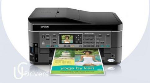 Epson WorkForce 545 Driver Printer Download