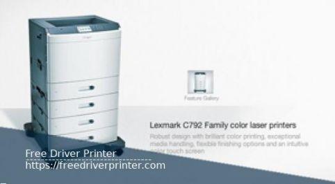 Lexmark C792 Drivers Windows and Mac