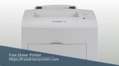 Lexmark E322 Printer Driver Download