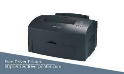 Lexmark E323 Driver Printer Download