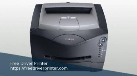 Lexmark E342n Driver Printer Download
