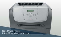 Lexmark E350d Driver Printer Download