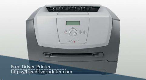 Lexmark E350d Driver Printer Download