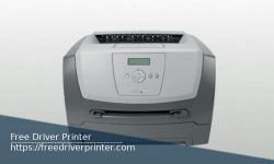 Lexmark E352dn Driver Printer Download