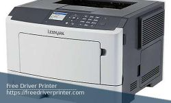 Lexmark MS317dn Driver Printer Download