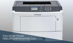 Lexmark MS417 Driver Printer Download