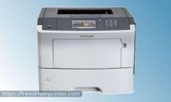 Lexmark MS610de Driver Printer Download