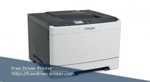 Printer Lexmark CS410 Drivers Download