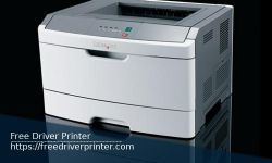 Printer Lexmark E260dn Series Drivers Downloads