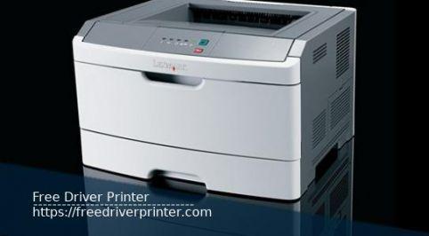 Printer Lexmark E260dn Series Drivers Downloads