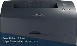 Printer Lexmark E220 Series Drivers Download