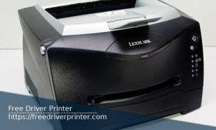 Printer Lexmark E238 Series Drivers Downloads
