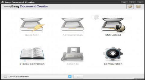 Samsung Easy Document Creator Software