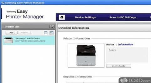 Samsung Easy Printer Manager 2.00.01.24
